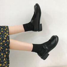 JK Uniform Pu Leather Shoes Women Japanese Lolita College Style  Mary Jane Shoes