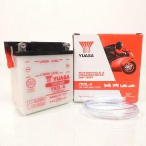 Batteria Yuasa per Moto Honda 250 XL R 1982 Per 1988 YB3L-A/12V 3Ah Nuovo