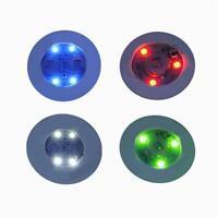 Creative Luminous Bottle LED Light Cup Sticker Mat Bar Club Party Coaster Decors