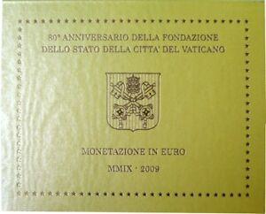 VAX2009.1 - COFFRET BU VATICAN - 2009 - 1 cent à 2 euros