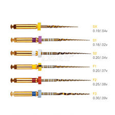 Dental Endodontic Endo X-Pro Gold Taper NITI Rotary Files Assorted 25mm Italy