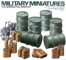 Tamiya 1/35 scale WW2 German Fuel Drums - Military model kit
