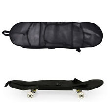 Outdoor Skateboard Carry Bag Longboard Deck Skate Board Backpack 81*21cm Black#V