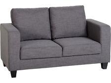 Seconique Tempo 2 Seater Sofa in a Box - Grey Fabric Settee