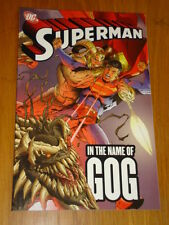 SUPERMAN nel nome di Gog DC Comics CHUCK AUSTEN Graphic Novel 9781845762018