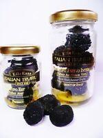 Trüffel schwarze Sommertrüffel Tuber aestivum 90 g ganze Knollen im Glas !