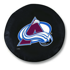 Colorado Avalanche HBS Black Vinyl Fitted Spare Car Tire Cover