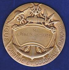 Médaille LIGUE MARITIME ET COLONIALE FRANCAISE LMC ,Attribuée
