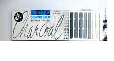 JAKAR - COMPRESSED CHARCOAL - ASSORTED GRAY SET OF 12