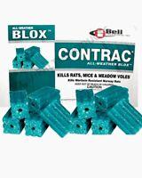 10pc CONTRAC BLOX All Weather Professional Grade Rat Mice Killer Poison Bait