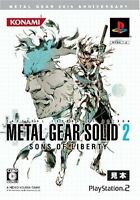 Used PS2 Metal Gear Solid2 Sons of Liberty 20th Anniversary Japan Import�A^