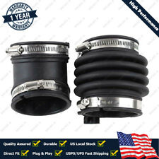 Air Intake Hose Tube Duct Boot Resonator For 06-08 Infiniti M35 16576EG00A Set