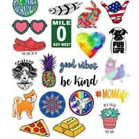 40pcs Newly Random Skateboard Stickers bomb Laptop Luggage Decals Sticker Lot