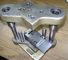 Jewelry Stamping Press Tool And Die To Make Triple Row Slim Cap .290mm