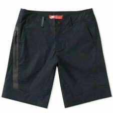 New Nike Mens Sportswear Bonded Shorts, 823365-010 Size 34