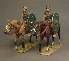 John Jenkins Designs Soldiers Roman Cavalry Walking Green Shield No 2 ROMCAV-04