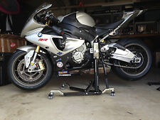 Paddock Style Side Lift Front and Rear Stand for BMW S1000 RR and HP4 up to 2013