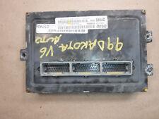 1999 DODGE DAKOTA ECM ENGINE COMPUTER (A27) 56040045ad