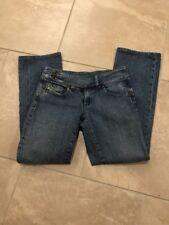 Womens Diesel Cherone Size UK 8 Medium Wash Stretch Bootcut Denim Jeans