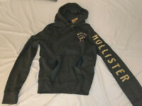 NWT Men's Hollister Logo Hoodie Sweater sweatshirt pullover SOFT ( PICK SIZE )