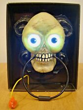 Animated Lightup Halloween Doorbell Prop Party Decoration. Come's With Batteries