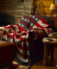 "Woolrich 991101 USA Freedom Throw Blanket 60"" x 72"""