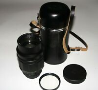 MINTA RARE TAIR-11A 135 mm f2.8 Silver M42 screw Manual lens 20 aperture blades!