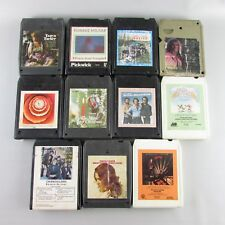 Lot of 11 eight 8 TRACK TAPES rock Roll Country Lot 2
