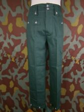 Pantalone tedesco estivo verde canneto drillichhose, German summer HBT trousers