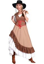 Cowgirl Saloonkleid Western Party Cowboy Kleid Saloon Girl Wilder Westen Motto