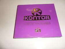 Cd   Kontor Top of the Clubs Vol.51 von Various (2011) - Box-Set