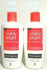 2-Pack Neutrogena Visibly Bright Daily Facial Cleanser 6.7 Fl Oz