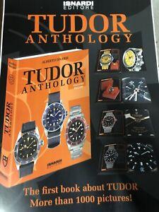 Tudor Anthology book about Tudor Watch- Submariner - Big Block Chrono etc