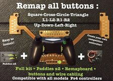 """Full Kit Remap board Ps4"" creer votre manette a palettes! Easy Remapper Ps4"
