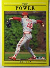1991 Fleer Update Ted Power #U-85
