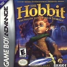 ***THE HOBBIT GAME BOY ADVANCE GBA COSMETIC WEAR~~~