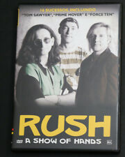RUSH DVD SHOW OF HANDS BRAZIL RELEASE MINT CONDITION