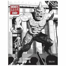 Weng's Chop #4 (Ray Harryhausen Commemorative Cover) by Brian Harris (2013,...