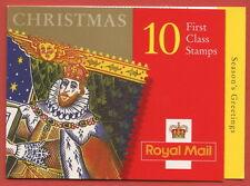 Lx17 1999 £2.60 King James Christmas Folded Booklet