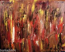 ABSTRACT PAINTING Canvas Wall ART Acrylic Modernist Modern DREAM STATE FOLTZ