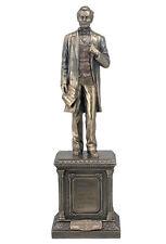 President Abraham Lincoln On Pedestal Statue Sculpture Figure