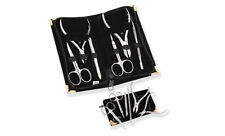 Manicure Kit pushers cuticle nippers cutters tweezers  scissors Stainless steel