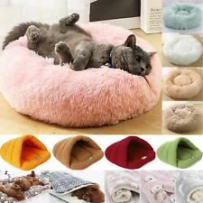 Fleece Large Pet Dog Cat Bed Warm Blanket Kennel Mattress Fur Donut Mat Nest Pad