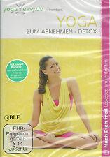 DVD + Yoga easy + Yoga zum Abnehmen + Detox + Fitness + Entgiften +
