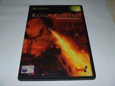 REIGN OF FIRE by BAM! for XBOX ORIGINAL (PAL) VERY GOOD CONDITION RARE!