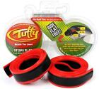 """Mr. Tuffy 700x28-32 / 27x1-1/8"""" - 1-1/4"""" Pair (2) Road Bicycle Tire Liners - RED"""