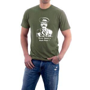 Blackadder Colonel Melchett T-shirt Darling Pooh-Pooh Beaaah Parody Sillytees