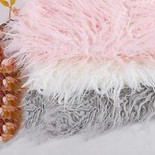 50*80Cm Long Wool Plush Fur Fabric Diy Toy Pillow Rug Home Textiles Sewing Craft