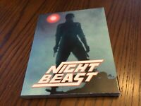 Nightbeast Blu Ray DVD w/ OOP slipcover Vinegar Syndrome Sealed New RARE Troma