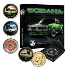 Holden Torana Limited Edition Gold Plated Enamel Penny Set